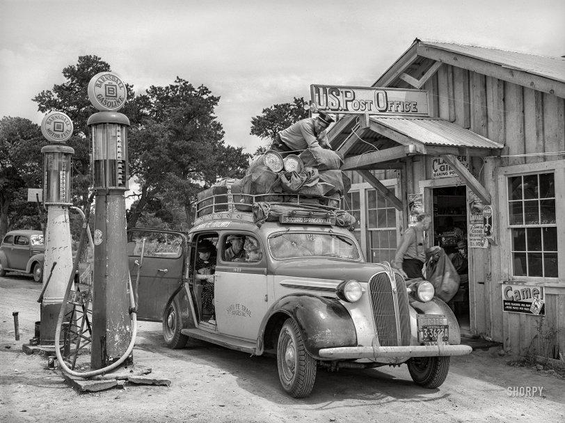 Santa Fe Trailways: 1940