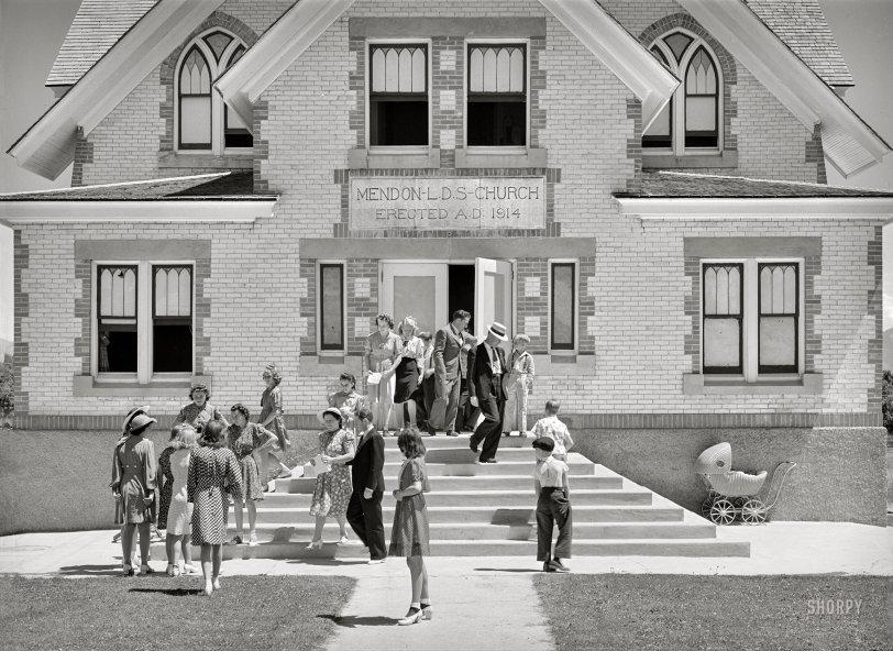 Mendon L.D.S. Church: 1940