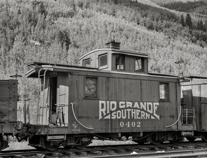 Colorado Caboose: 1940