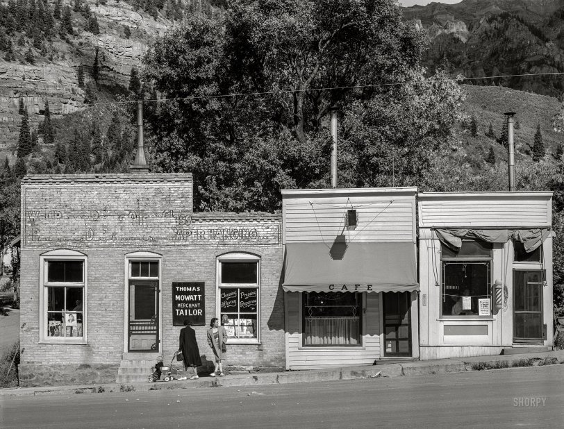 Ouray Cafe: 1940