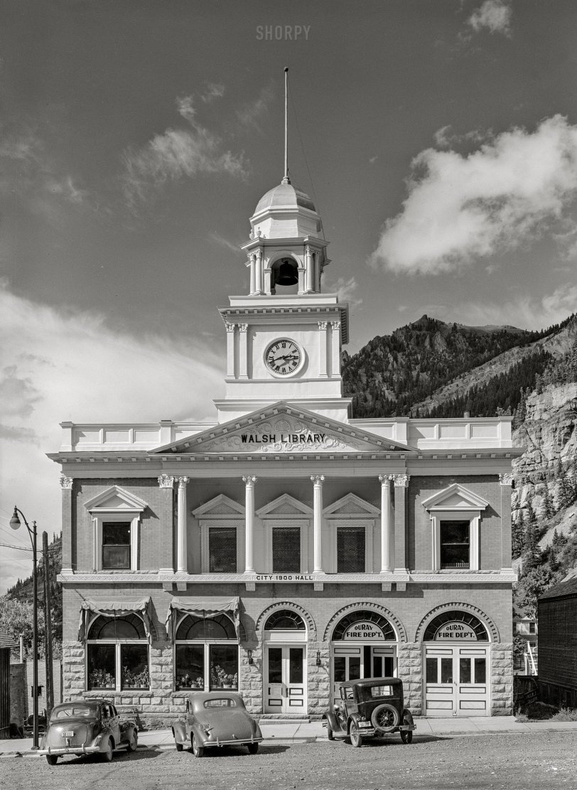 Official Ouray: 1940