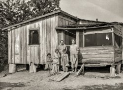 Sharecropper Shack: 1936