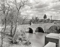 The Old Stone Bridge: 1936