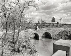 The Old Stone Bridge: 1936