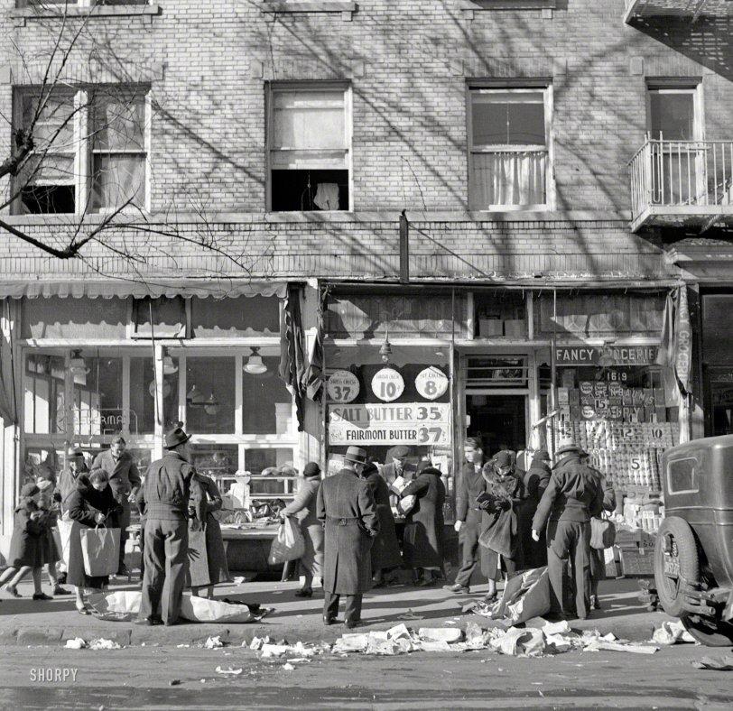 Fancy Groceries: 1936