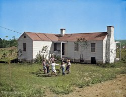 Our House (Colorized): 1934