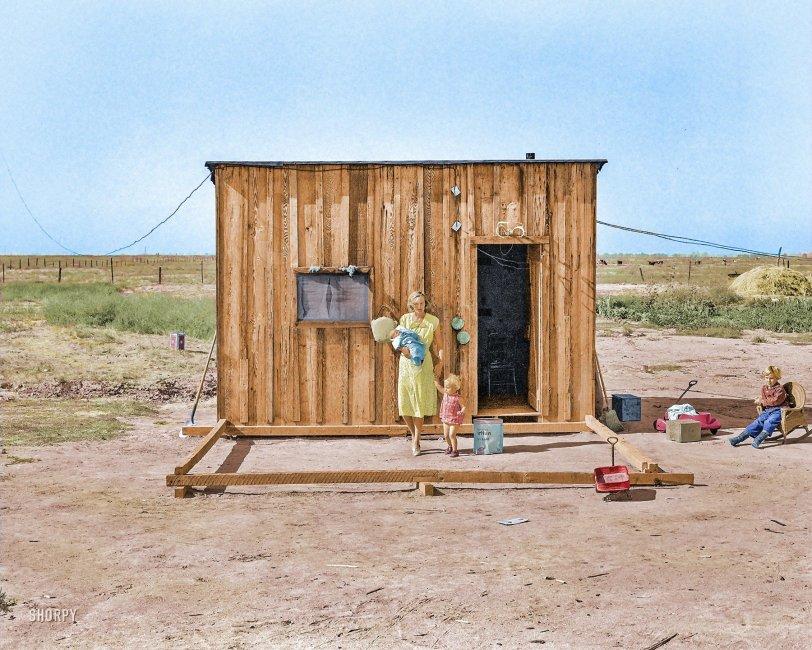 Little House (Colorized): 1938