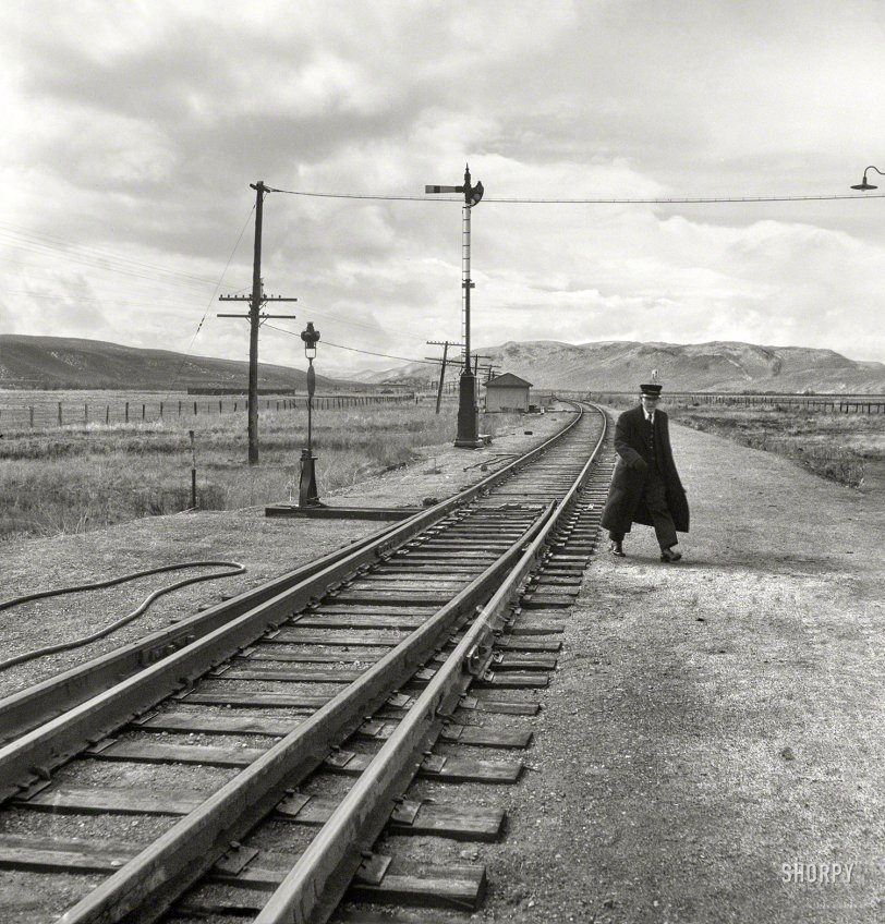 Brakeman in Black: 1939