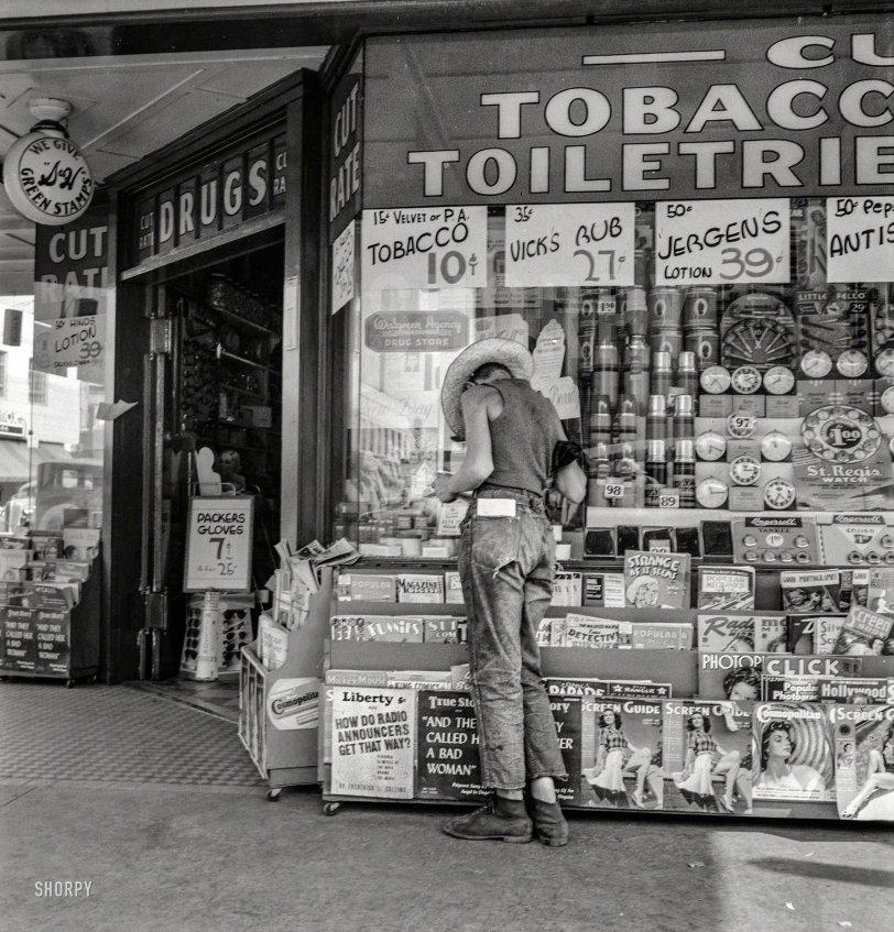 Drugstore Farmboy: 1939