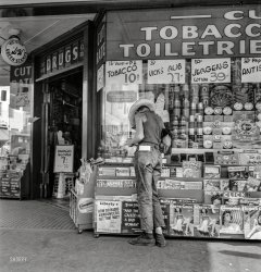 Drugstore Farmboy: 1939