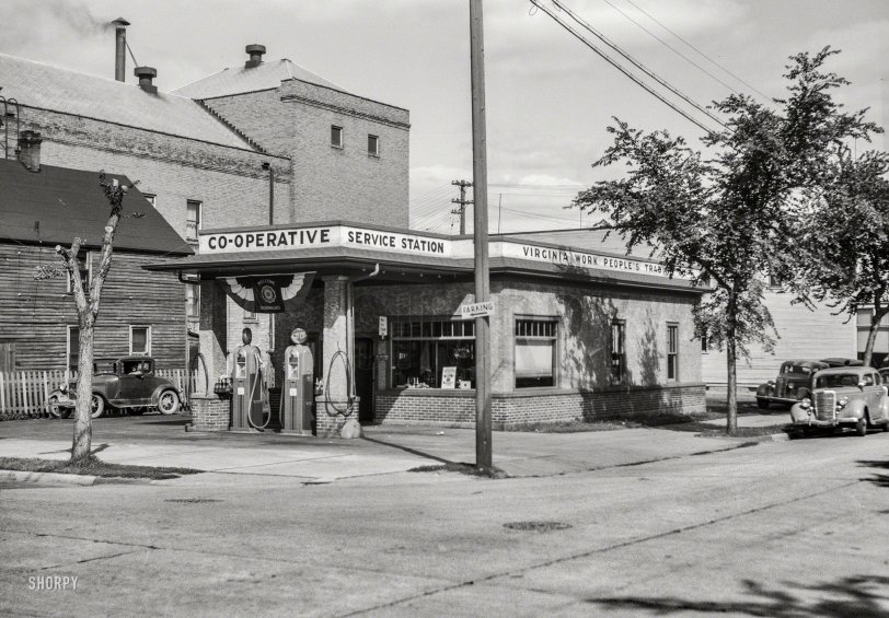 Co-op Gasoline: 1937