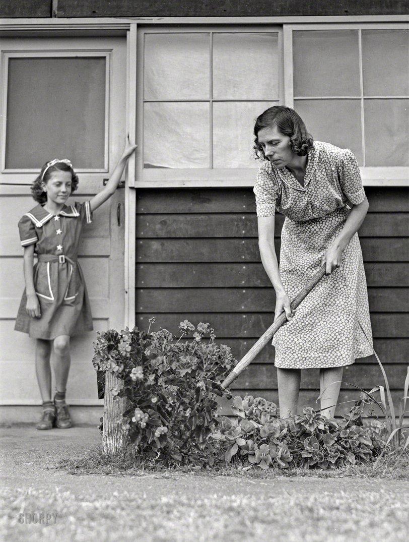 A Garden of Mum's: 1942