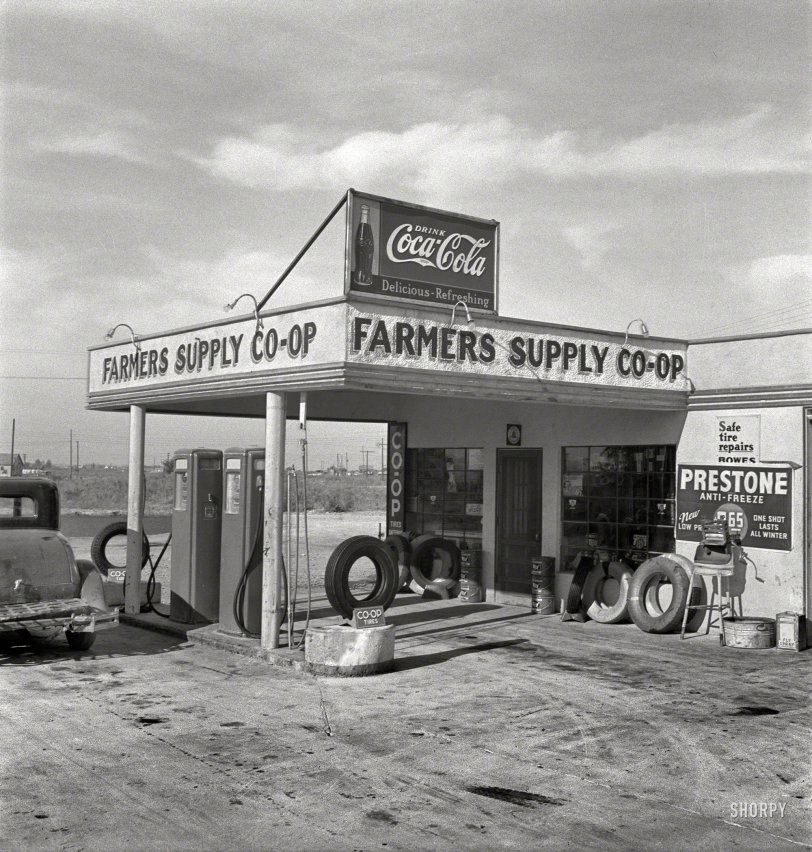 Co-op Tires: 1939