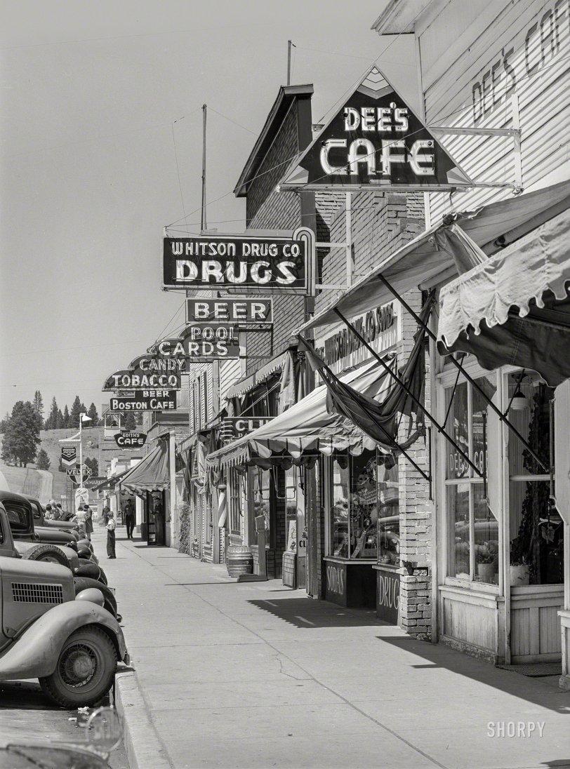 Cascade Cafes: 1941
