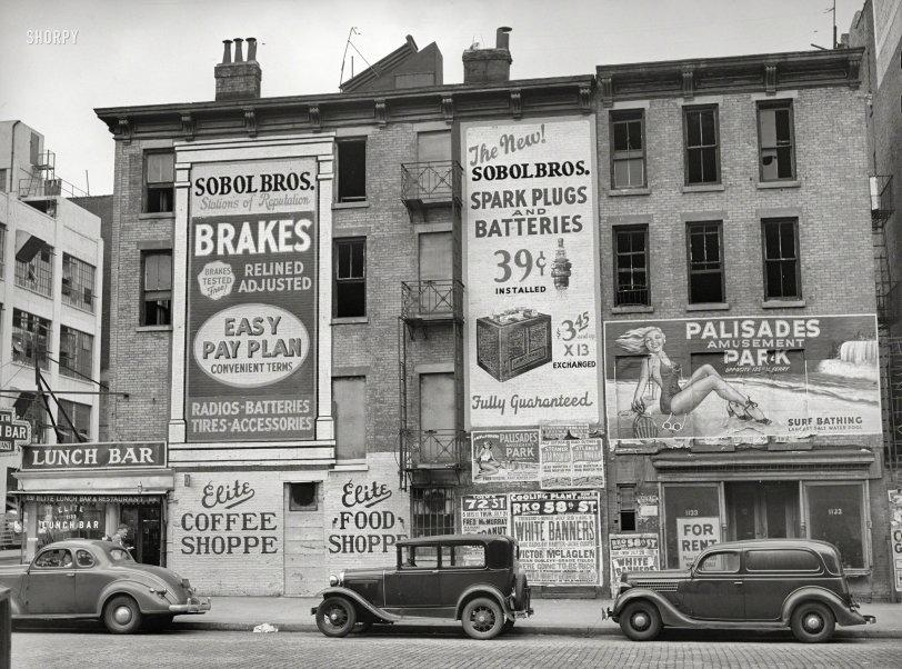 Lunch Bar: 1938