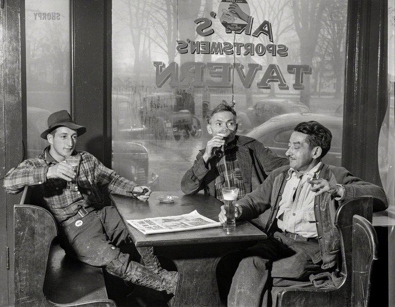 Sportsmen's Tavern: 1940