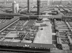 Union Stockyards: 1941