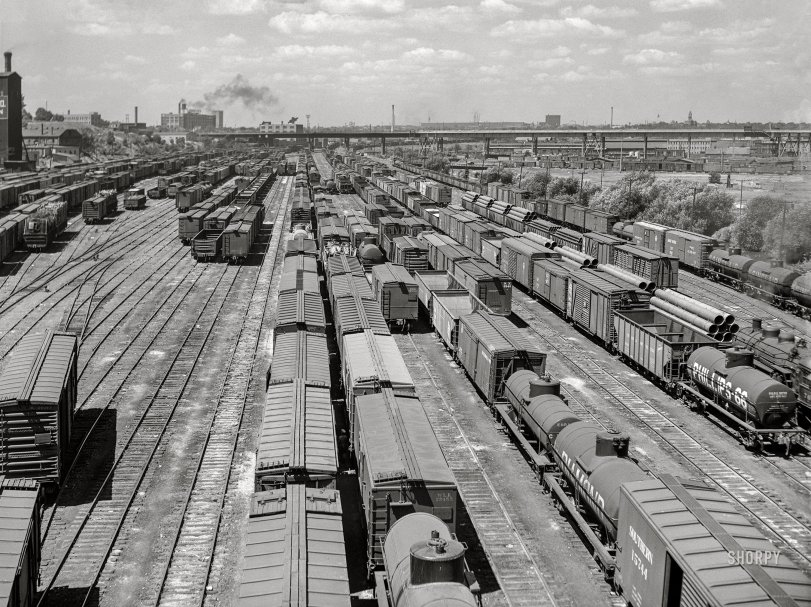 Milwaukee Yards: 1941