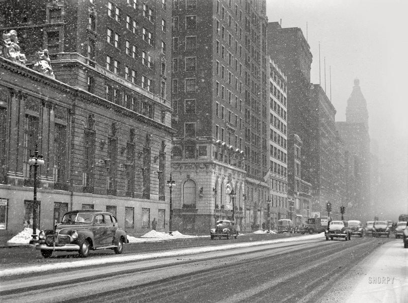 Michigan Avenue: 1942