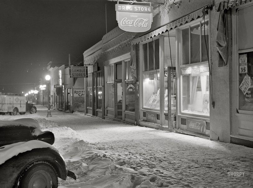 Winter in Hettinger: 1942