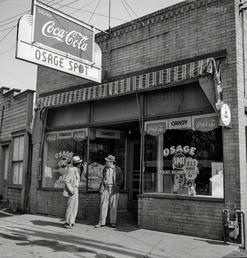 Osage Spot: 1938