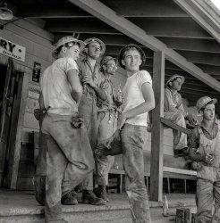 Dam Workmen: 1942