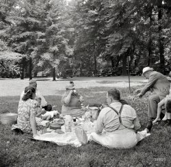 A Picnic in the Park: 1942