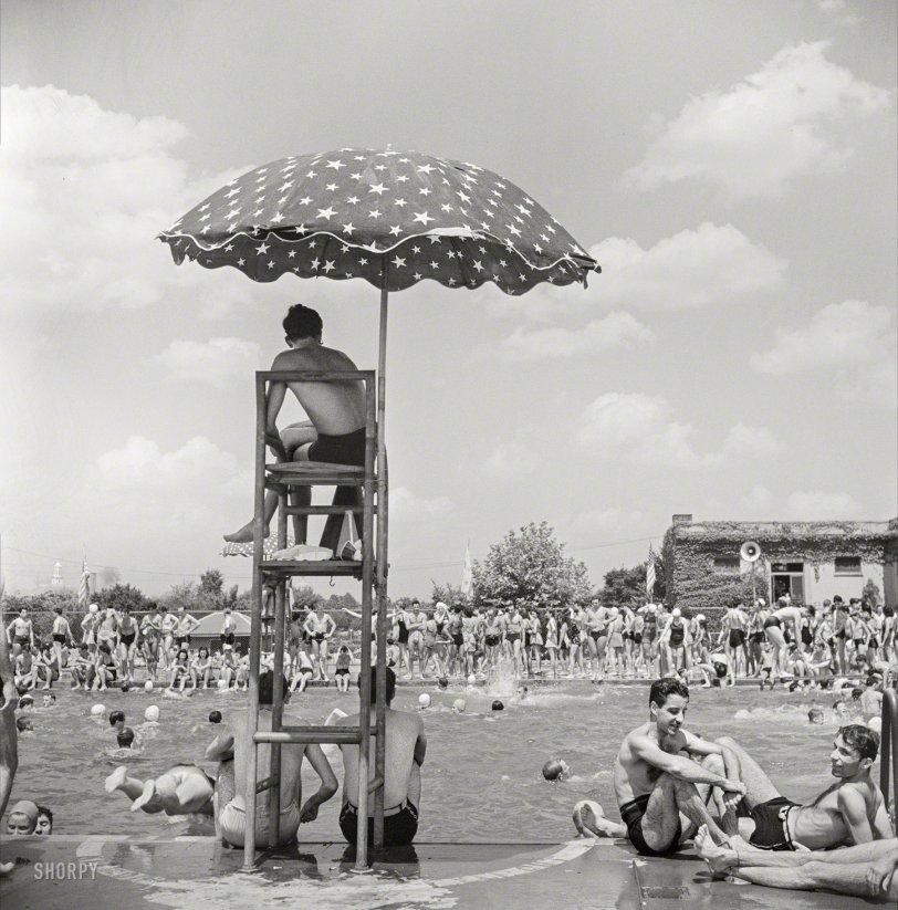 Sunday Swimmers: 1942
