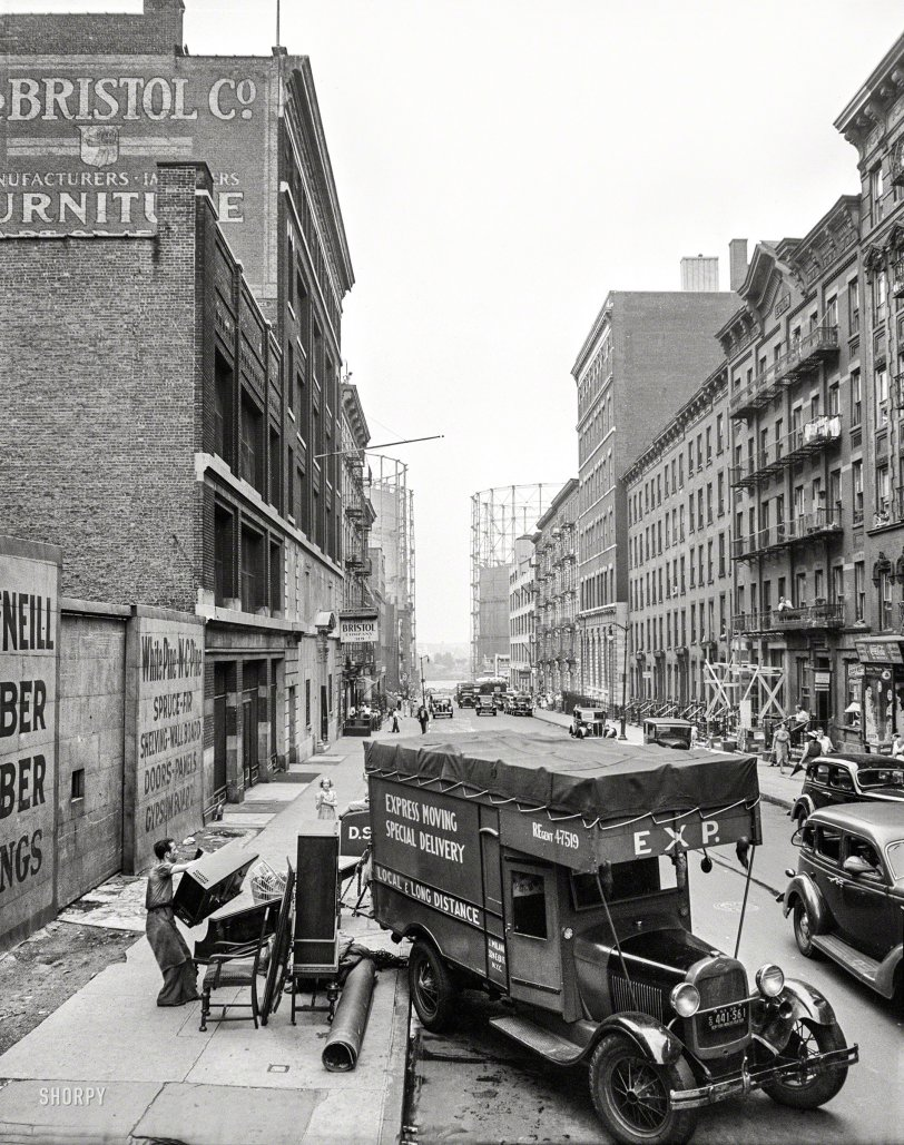 Moving Day: 1938