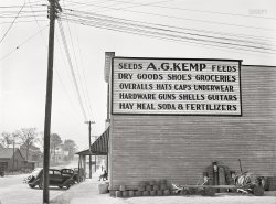 Guns Guitars Groceries: 1939