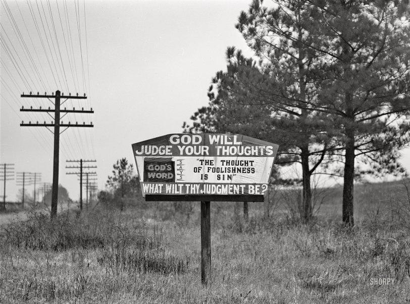 Warning Sign: 1940