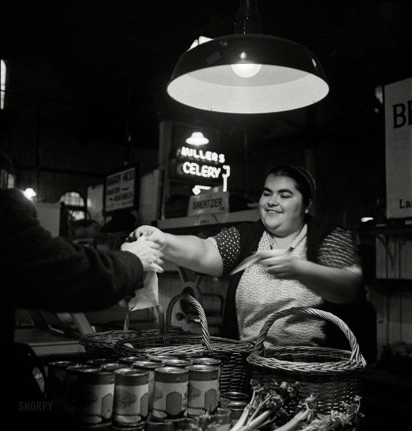 She Sells Celery: 1942