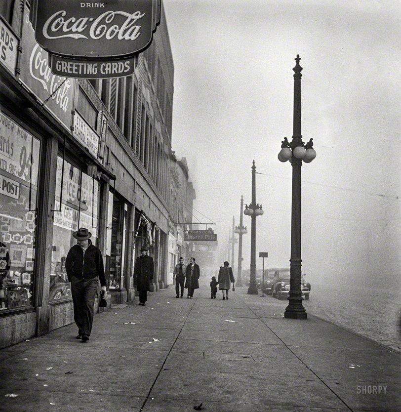 On Little Cat Feet: 1942