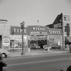 Tire Service: 1942