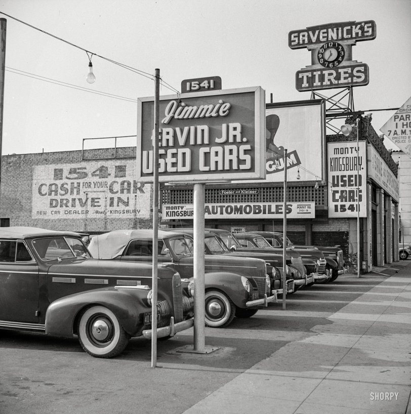 Cash For Your Car: 1942