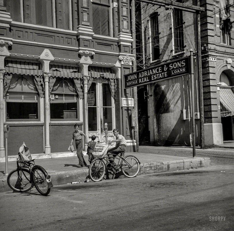 Yesterday's Newsboys: 1943