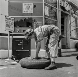 Tire Jockey: 1943