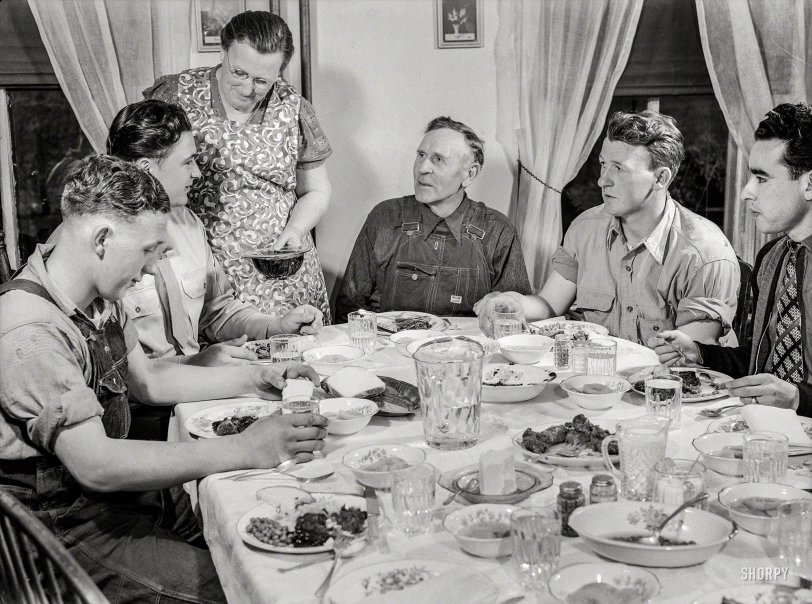 Farm Table: 1943