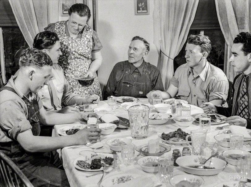 Farm Table: 1943