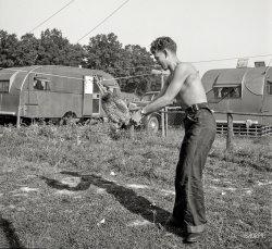 Choking the Chicken: 1943