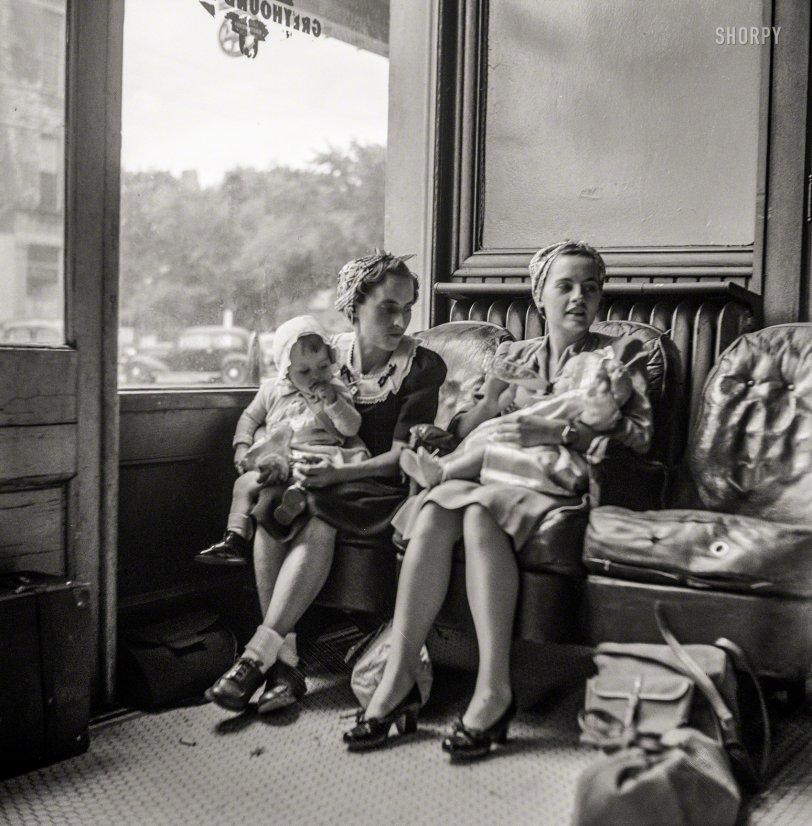 Tots in Transit: 1943