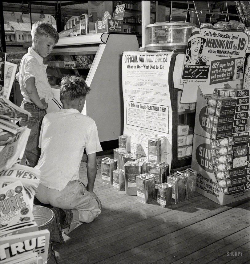 Air Raid Rules: 1942