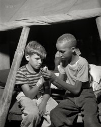 Splint in a Tent: 1943