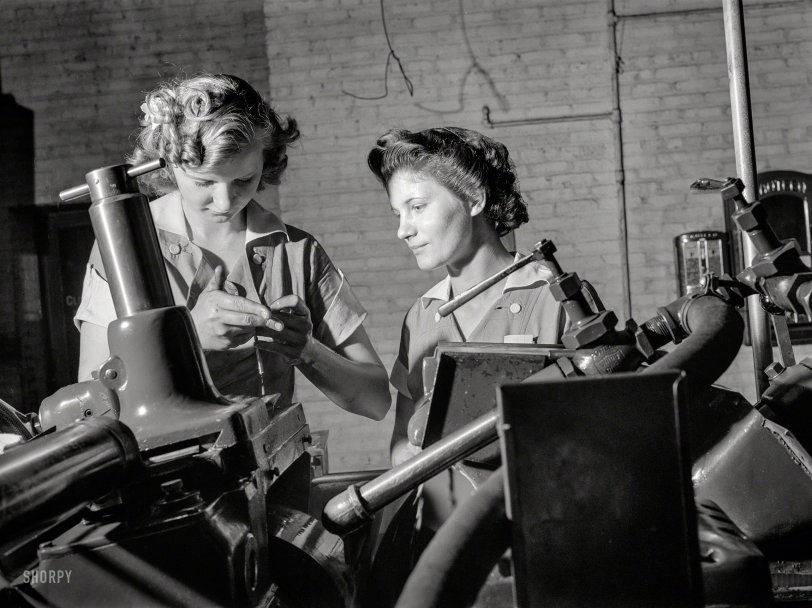 Manned by Women: 1942