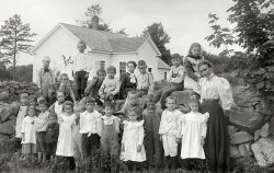 Little White Schoolhouse: 1900