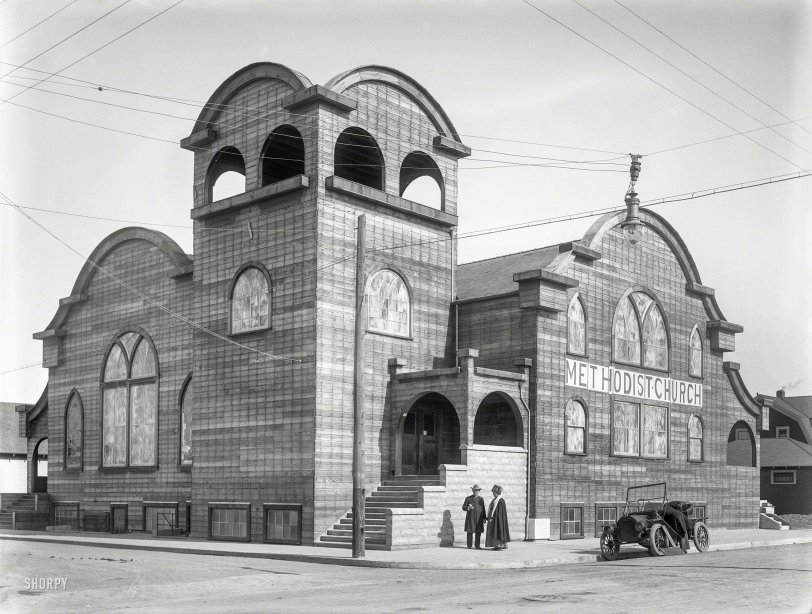 Church of the Wild Wood: 1912