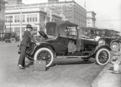 Automobile Row: 1918