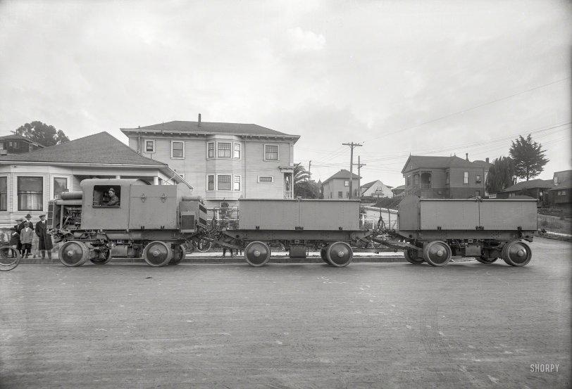 Road Train: 1918