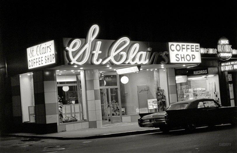 Coffee Shop Cadillac: 1964