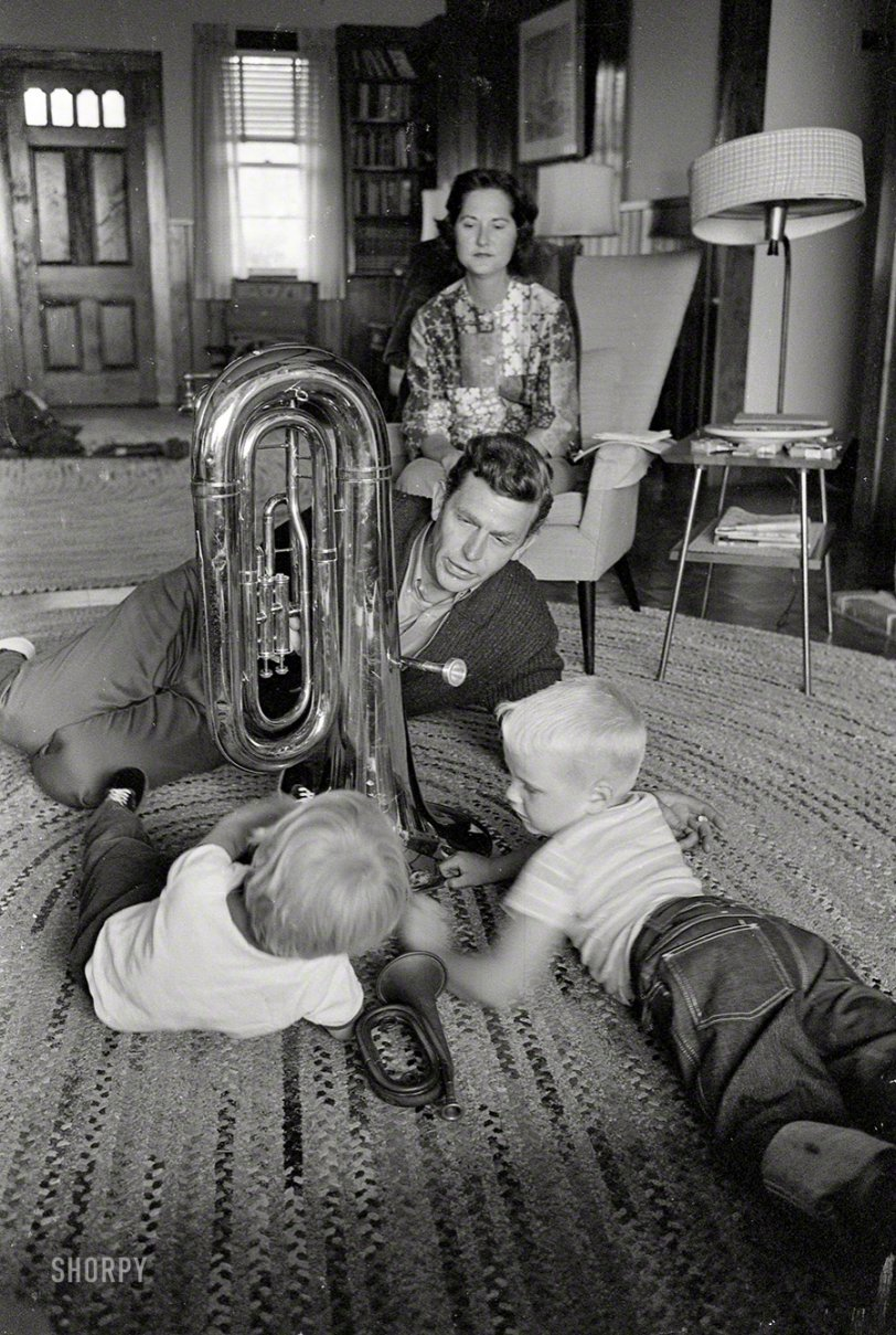 Andy at Home: 1962